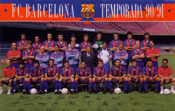 1990-1991 BARCELONA