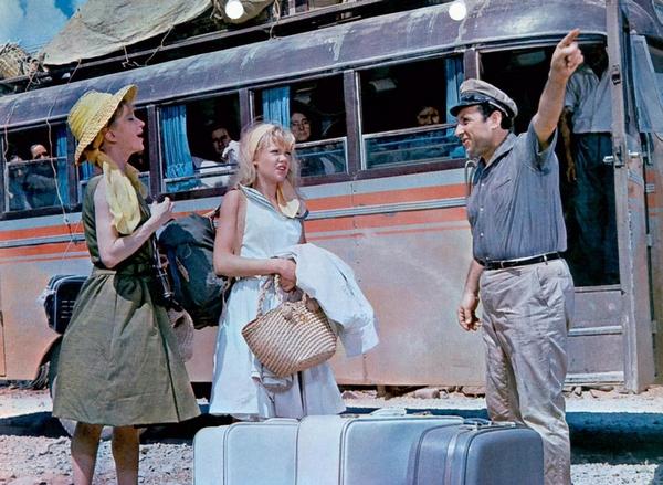 THE MOON-SPINNERS, Joan Greenwood, Hayley Mills, Harry Tardios, 1964