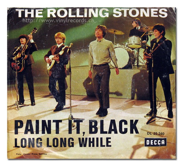 "Rolling Stones Paint it Black 7"" Single"