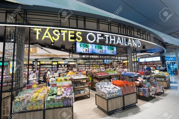 duty free shopping, Bangkok international airport