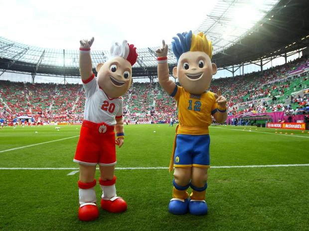 EURO 2012 Slavek et Slavko