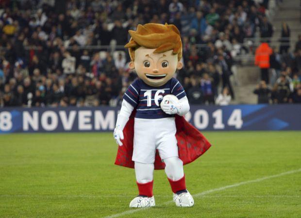 France Soccer Euro 2016 Mascot