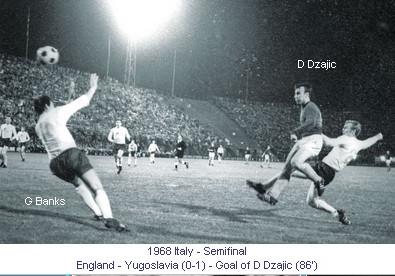 1968 YUGOSLAVIA-ENGLAND