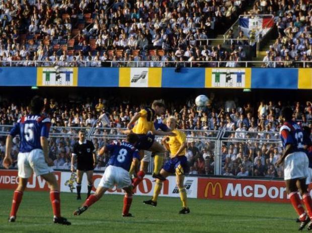 1992 FRANCE-SWEDEN