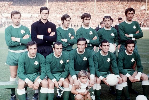 PANATHNAIKOS 1970-1971 WEMBLEY