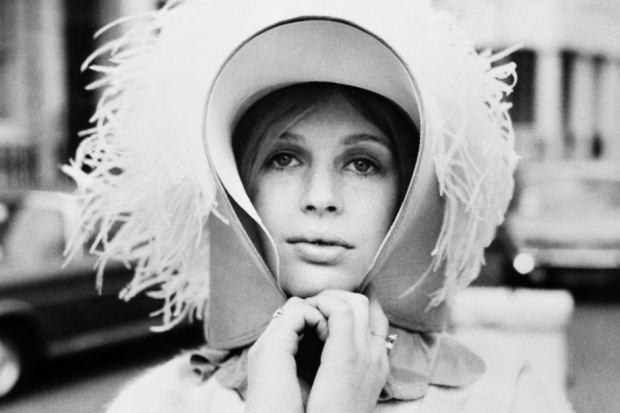 Marianne Faithfull in 1973