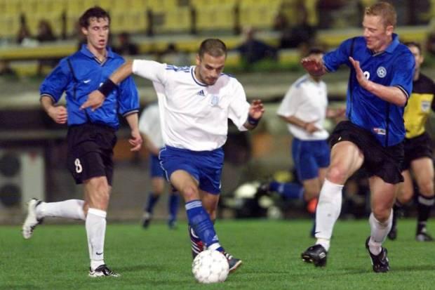 Δύο γκολ είχε πετύχει ο Ντέμης το 2001 με τους Εσθονούς στη Ν.Φιλαδέλφεια
