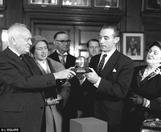 1956 Stanley Matthews
