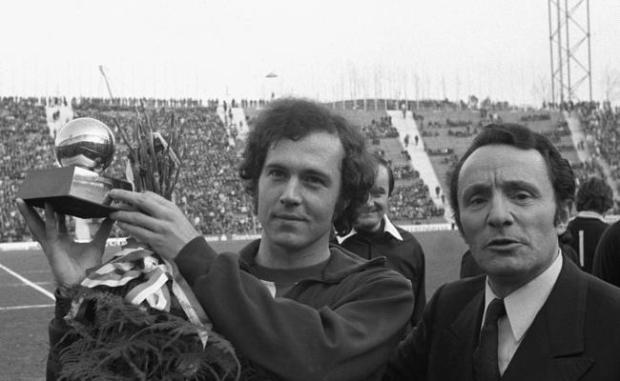 1972 Franz Beckenbauer