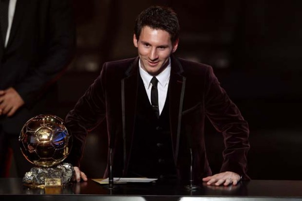 2011 Lionel Messi of