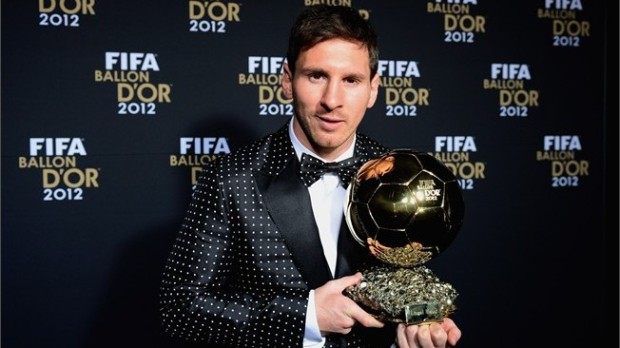 2012 Lionel Messi