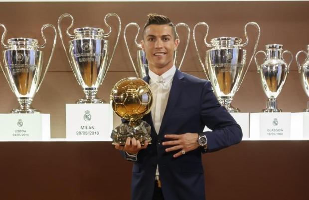 2016 Christiano Ronaldo