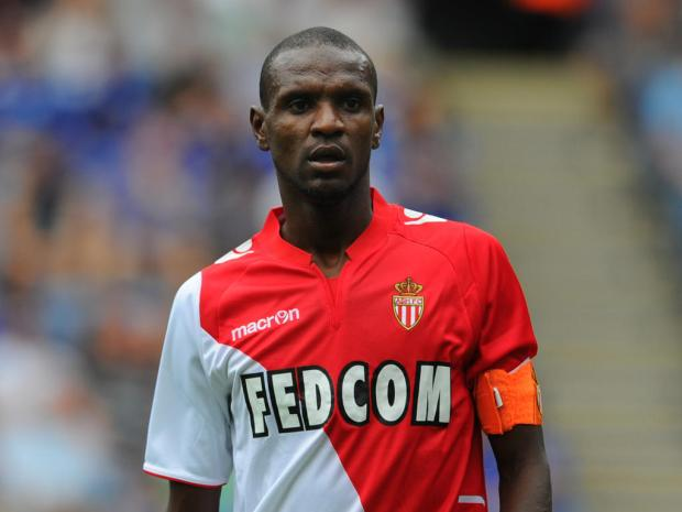 LEICESTER, ENGLAND - JULY 27: Eric Abidal of Monaco looks on during the the pre season friendly match between Leicester City and Monaco at The King Power Stadium on July 27, 2013 in Leicester, England. (Photo by Michael Regan/Getty Images)
