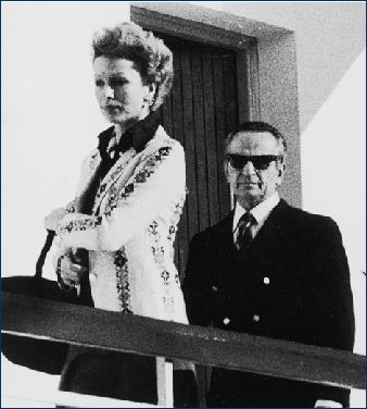 Ο Ρουφογάλης με την σύζυγο του Ντέλα