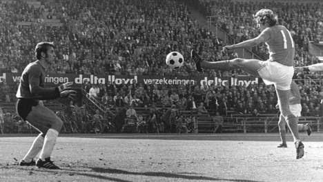 1971 Φάση από το Ολλανδικό πρωτάθλημα