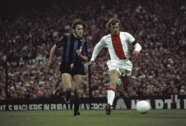 Κόντρα στην Ίντερ στον τελικό του 1972 στο Ρότερνταμ