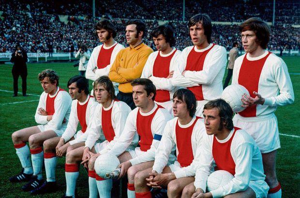 Η θρυλική ομάδα του Άγιαξ στον τελικό του 1971