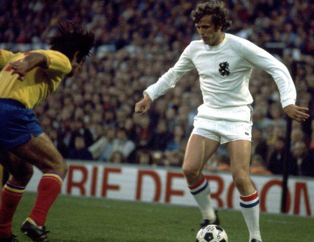 Με την εθνική Ολλανδίας το 1973
