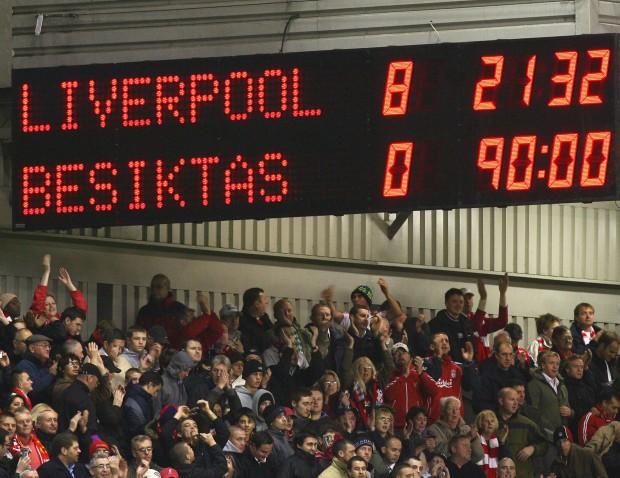 UEFA Champions League Group A: Liverpool v Besiktas