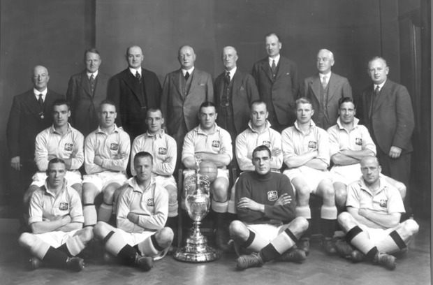H Mάντσεστερ Σίτι, πρωταθλήτρια του 1937