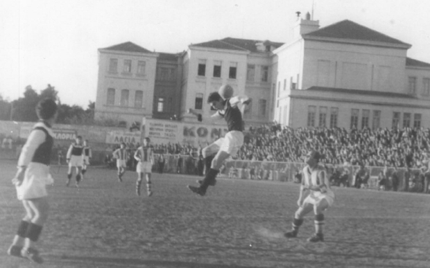 Το γήπεδο του ΠΑΟΚ το 1952