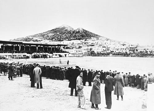 Το γήπεδο της Λεωφόρου εκείνη την περίοδο